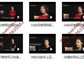 小鹿情感安小妖《社交软件撩妹终极指南》完整视频课