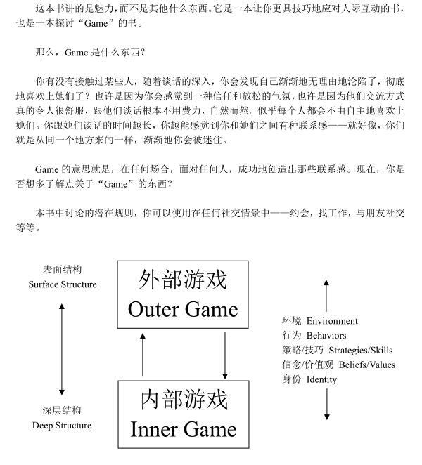 泡妞教程《游戏》PDF电子书